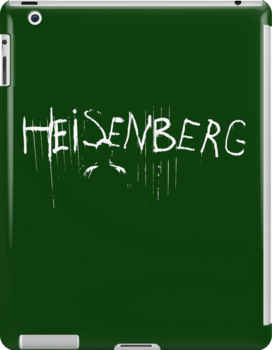 my name is heisenberg graffiti spray paint breaking bad ipad cases. Black Bedroom Furniture Sets. Home Design Ideas