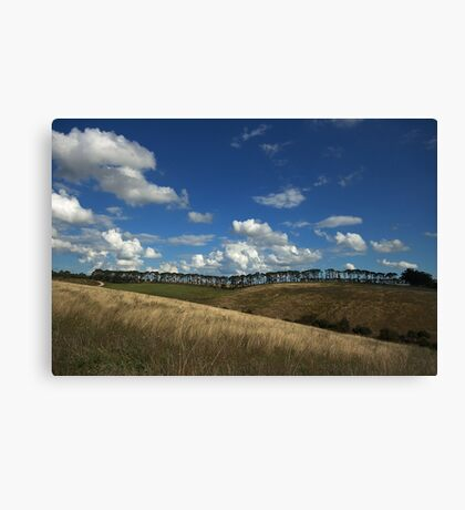 == Lines of Nature == Donny Brook – Country Victoria - Australia Canvas Print