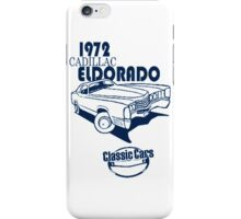 Classic Car 1972 Cadillac Eldorado iPhone Case/Skin