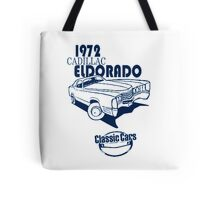Classic Car 1972 Cadillac Eldorado Tote Bag