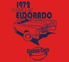 Classic Car 1972 Cadillac Eldorado One Piece - Short Sleeve