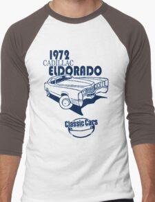 Classic Car 1972 Cadillac Eldorado Men's Baseball ¾ T-Shirt