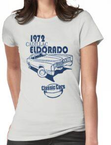 Classic Car 1972 Cadillac Eldorado Womens Fitted T-Shirt