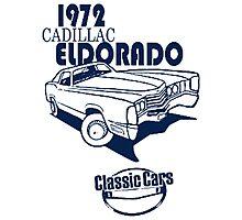 Classic Car 1972 Cadillac Eldorado Photographic Print