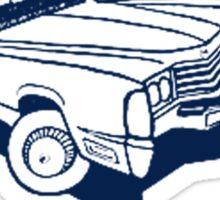 Classic Car 1972 Cadillac Eldorado Sticker