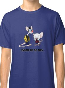 Pinkman and the brain - Breaking Bad/ Pinky and the brain Classic T-Shirt