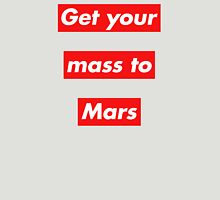 Get Your Mass to Mars (Red Alert) – Shirts & Hoodies Unisex T-Shirt