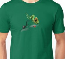 Praying Mantis Vs Black Widow Unisex T-Shirt