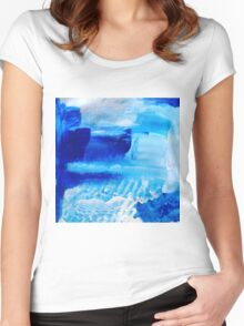 Under the waves Women's Fitted Scoop T-Shirt