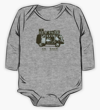New York Or Bust! One Piece - Long Sleeve