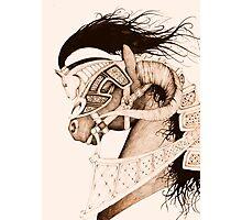 Bulven Horse Photographic Print