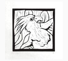 Cockatoo, linocut, 1990 Kids Tee
