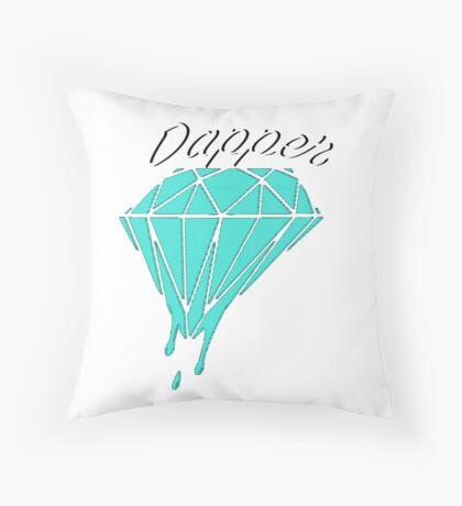 Dapper Diamonds Throw Pillow