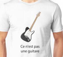 Ce n'est pas une guitare Unisex T-Shirt