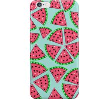Watermelon Slice Party iPhone Case/Skin