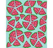 Watermelon Slice Party Photographic Print