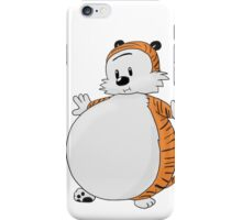calvin and hobbes obess iPhone Case/Skin