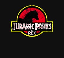 Jurassic Parks and Rec Distressed  Unisex T-Shirt