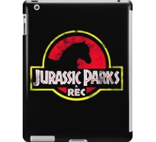 Jurassic Parks and Rec Distressed  iPad Case/Skin