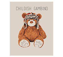 Gambino Bear Photographic Print