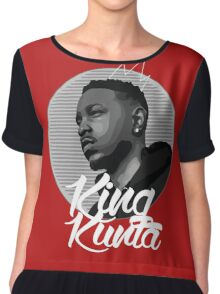 King Kunta Chiffon Top