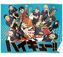 Haikyuu!! Anime Poster