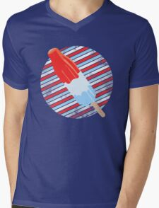 Rocket Pop Mens V-Neck T-Shirt