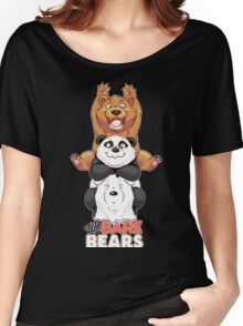 Funny We Bare Bears Women's Relaxed Fit T-Shirt