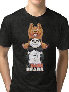 Funny We Bare Bears Tri-blend T-Shirt