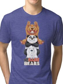 Funny We Bare Bears Tri-blend T-Shirt