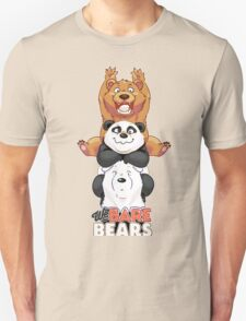 Funny We Bare Bears Unisex T-Shirt