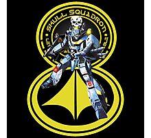 Skull Squadron Classic Photographic Print