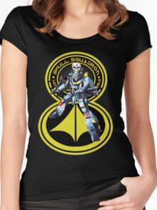 Skull Squadron Classic Women's Fitted Scoop T-Shirt