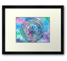 Dreamy Lotus Framed Print