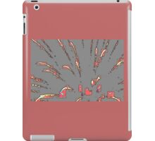 Fireworks in Peach iPad Case/Skin