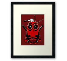 Minipool Funny Minion Framed Print