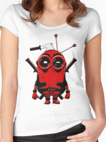 Minipool Funny Minion Women's Fitted Scoop T-Shirt
