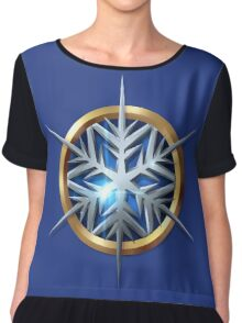 Captain Cold Chiffon Top