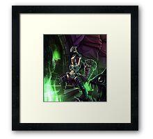 Warrior of R'lyeh Framed Print