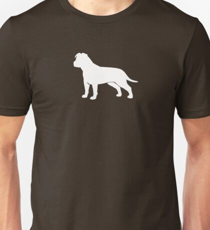 American Staffordshire Terrier Silhouette(s) Unisex T-Shirt