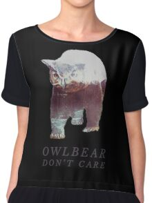 Owlbear Don't Care Chiffon Top
