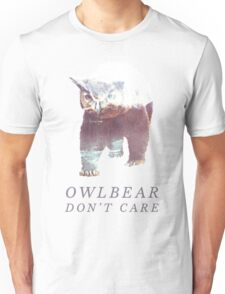 Owlbear Don't Care Unisex T-Shirt