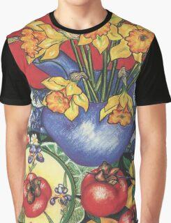 Daffodils and Tamarillos Graphic T-Shirt