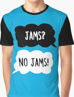 Jimin & Rap Monster - Jams? No Jams! - BTS Graphic T-Shirt