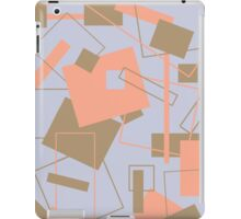 60's Style in Fashion Colors Var 8 iPad Case/Skin
