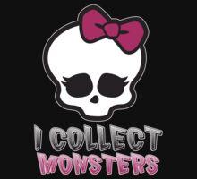 Monster Collector - Monster High Doll Shirt One Piece - Short Sleeve