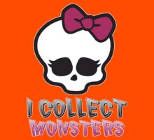 Monster Collector - Monster High Doll Shirt Kids Tee