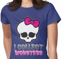 Monster Collector - Monster High Doll Shirt Womens Fitted T-Shirt