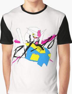 Gundam RX78 Graphic T-Shirt