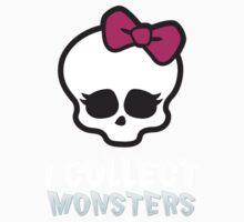 Monster Collector - Monster High Doll Shirt Dark One Piece - Long Sleeve